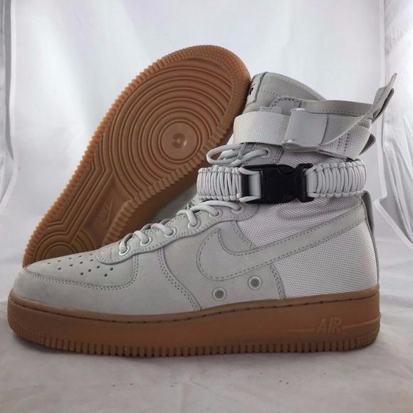 super popular a80f8 d8f60 Nike Shoes | Sf Af1 Special Field Air Force 1 Grey Gum | Poshmark